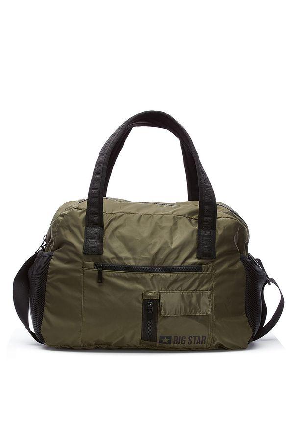 Zielona torba podróżna Big Star Accessories