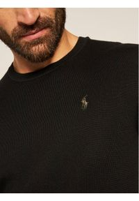 Czarny sweter klasyczny Polo Ralph Lauren polo