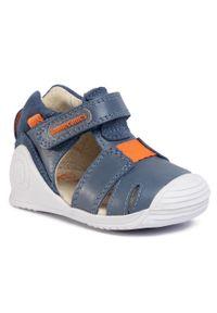 Niebieskie sandały Biomecanics na lato