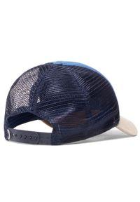 Niebieska czapka z daszkiem Buff