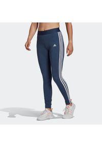 Legginsy do fitnessu Adidas w paski