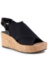 Czarne sandały HÖGL