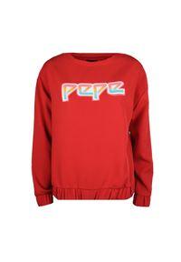 """Pepe Jeans Bluza """"Lisa"""". Okazja: na co dzień. Materiał: tkanina. Styl: casual"""