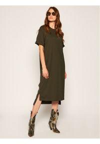 Zielona sukienka dzianinowa MAX&Co.