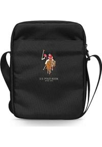 "U.S. Polo Assn - Torba U.S. Polo ASSN US Polo Torba USTB10PUGFLBK 10"" czarna /black. Kolor: czarny"