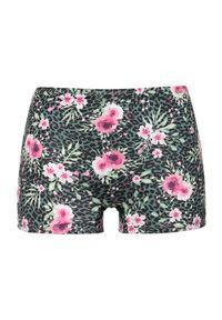 Zielone dół bikini Cellbes w kwiaty