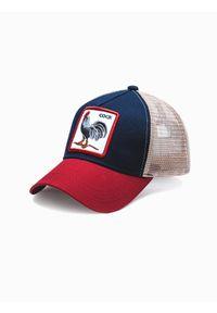 Niebieska czapka Ombre Clothing