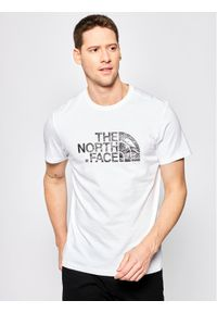 Biały t-shirt The North Face