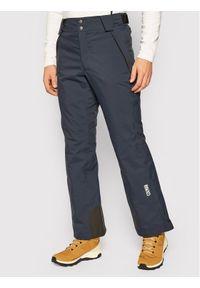 Niebieskie spodnie sportowe Colmar narciarskie