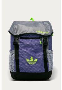 Fioletowy plecak adidas Originals z nadrukiem