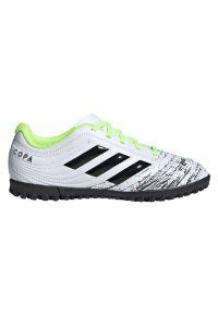 Adidas - Buty piłkarskie turfy dla dzieci adidas Copa 20.4 TF EF1924. Okazja: na imprezę. Materiał: syntetyk, skóra. Szerokość cholewki: normalna. Sezon: lato. Sport: piłka nożna