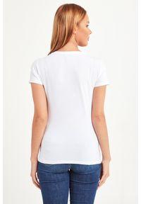 T-shirt Liu Jo w kolorowe wzory, casualowy, na co dzień