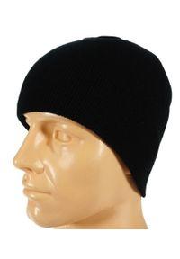 Czarna czapka Pako Jeans na zimę, klasyczna