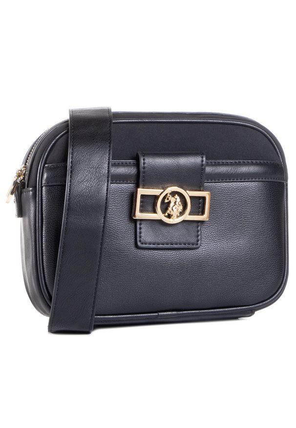 U.S. Polo Assn - Torebka U.S. POLO ASSN. - Albany Crossbody Bag BIUYB4898WVP/000 Black. Kolor: czarny. Materiał: skórzane