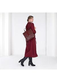 Czerwony plecak Wittchen casualowy