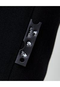 OFF-WHITE - Czarna ołówkowa spódnica. Stan: podwyższony. Kolor: czarny