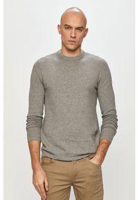 Szary sweter Only & Sons na co dzień, casualowy