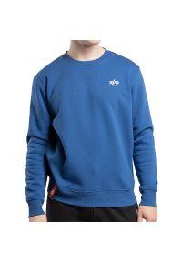 Alpha Industries Basic Sweater Small Logo > 188307539. Materiał: bawełna, poliester. Styl: klasyczny