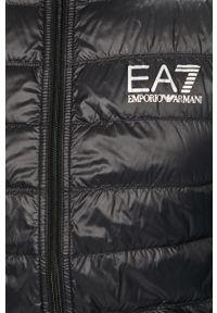 Czarna kurtka EA7 Emporio Armani z kapturem #6