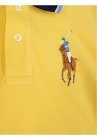 Żółty t-shirt polo Polo Ralph Lauren polo