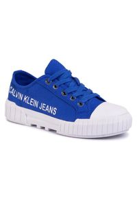 Niebieskie trampki Calvin Klein Jeans