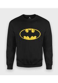 MegaKoszulki - Bluza klasyczna Batman Scratched. Wzór: motyw z bajki. Styl: klasyczny