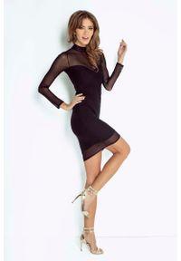Czarna sukienka Wow Point ołówkowa
