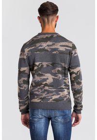 Sweter Trussardi Jeans z aplikacjami, z okrągłym kołnierzem