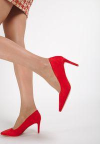 Renee - Czerwone Szpilki Pardella. Kolor: czerwony. Obcas: na szpilce