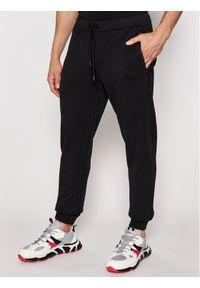 North Sails Spodnie dresowe PRADA Milton 454003 Czarny Regular Fit. Kolor: czarny. Materiał: dresówka