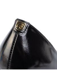 Czarne półbuty Baldaccini z cholewką, eleganckie