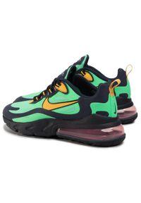Zielone półbuty Nike casualowe, z cholewką, na co dzień