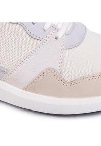 Białe buty sportowe Clarks do biegania