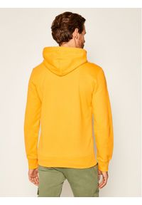 Champion Bluza Script Logo 214183 Żółty Comfort Fit. Kolor: żółty