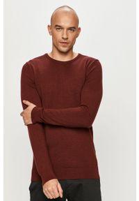Brązowy sweter Clean Cut Copenhagen casualowy, na co dzień, długi