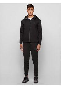 BOSS - Boss Bluza Saggy 50441280 Czarny Regular Fit. Kolor: czarny