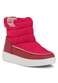 Różowe kozaki Pepe Jeans