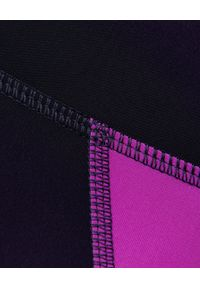 ISABEL MARANT - Czarne leginsy z lampasem Tiso. Kolor: czarny. Materiał: materiał. Długość: długie. Wzór: aplikacja. Styl: sportowy