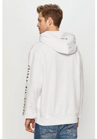Biała bluza nierozpinana Element z kapturem, z motywem z bajki