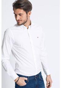 Biała koszula TOMMY HILFIGER elegancka, button down