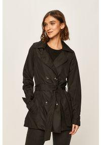 Czarny płaszcz ANSWEAR bez kaptura