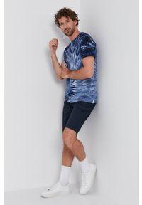 Bomboogie - T-shirt. Okazja: na co dzień. Kolor: niebieski. Materiał: bawełna, dzianina. Styl: casual
