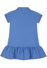 Niebieska sukienka Polo Ralph Lauren polo, casualowa, prosta, na co dzień