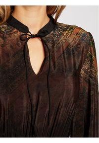 Czarna sukienka koszulowa Desigual #5