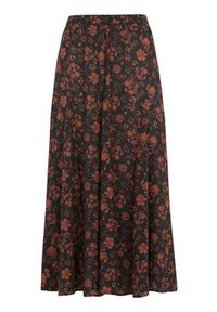 Cellbes Wzorzysta długa spódnica w kwiaty female ze wzorem 62/64. Materiał: guma. Długość: długie. Wzór: kwiaty