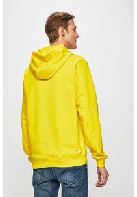 Fila - Bluza. Okazja: na co dzień. Kolor: żółty. Materiał: materiał. Wzór: nadruk. Styl: casual