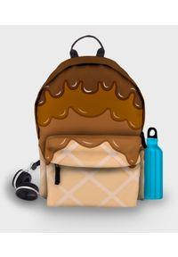 MegaKoszulki - Plecak fullprint Lody. Materiał: materiał. Wzór: nadruk