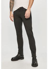 Czarne spodnie Jack & Jones casualowe, na co dzień