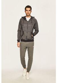 Szare spodnie dresowe New Balance melanż #4