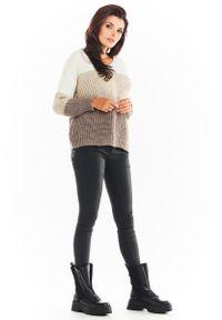 Beżowy sweter Awama